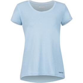 Marmot All Around Camiseta Manga Corta Mujer, azul